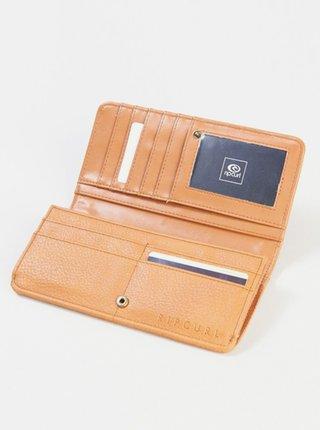 Rip Curl PARADISE PALMS CHEQU HONEY dámská značková peněženka - béžová