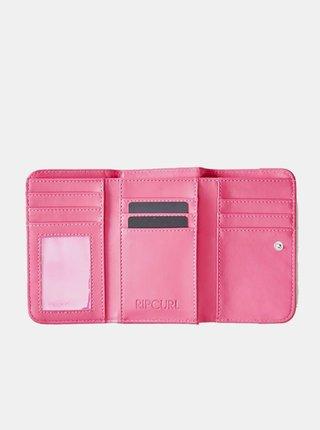 Rip Curl NORTH SHORE MID Light Pink dámská značková peněženka - růžová