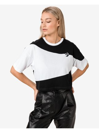 Cut-And-Sew Oversized Crop top Converse