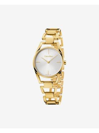 Hodinky pre ženy Calvin Klein - zlatá