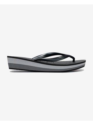 Papuče, žabky pre ženy Havaianas - čierna, sivá
