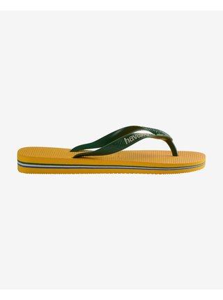 Sandále, papuče pre mužov Havaianas - žltá