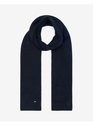 Čiapky, šály, rukavice pre mužov Tommy Hilfiger - modrá