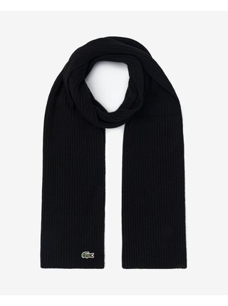 Čiapky, šály, rukavice pre mužov Lacoste - čierna