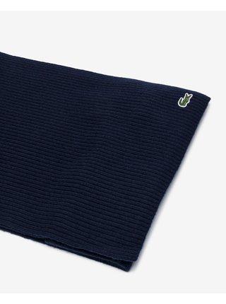 Čiapky, šály, rukavice pre mužov Lacoste - modrá