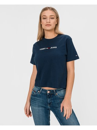 Moder Linear Logo Crop top Tommy Jeans
