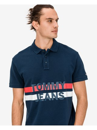 Block Stripe Polo triko Tommy Jeans