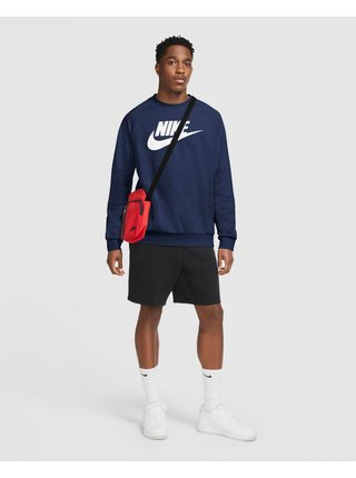 Mikiny bez kapuce pre mužov Nike - modrá