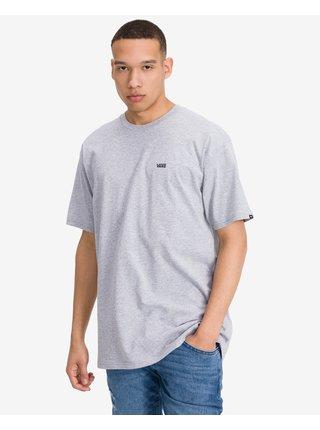 Tričká s krátkym rukávom pre mužov VANS - sivá