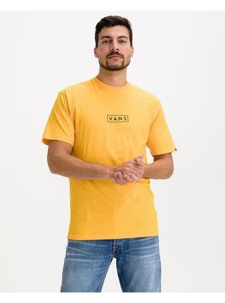 Tričká s krátkym rukávom pre mužov VANS - žltá