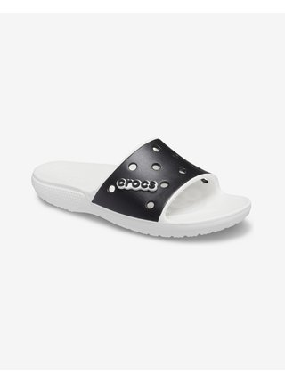 Papuče, žabky pre ženy Crocs - čierna, biela