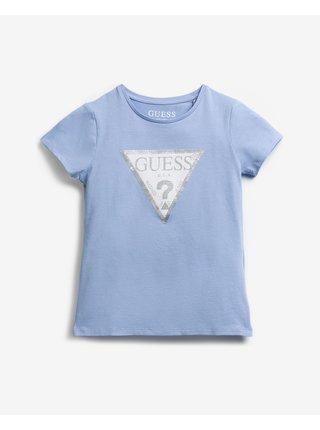 Sequins Front Logo Triko dětské Guess