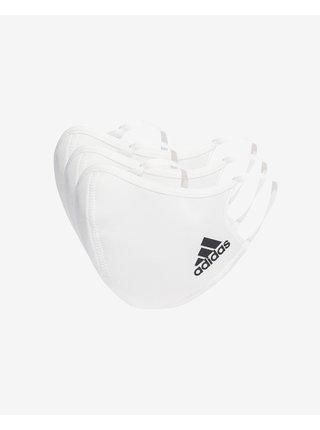 Rúška pre mužov adidas Performance - biela