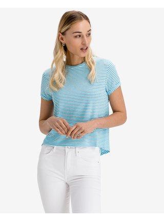 Tričká s krátkym rukávom pre ženy Tommy Jeans - modrá