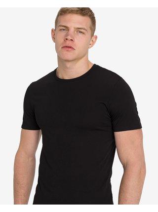 Tričká pod košele pre mužov Lacoste - čierna, biela, sivá