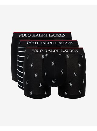 Boxerky pre mužov POLO Ralph Lauren - čierna