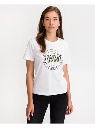 Tričká s krátkym rukávom pre ženy Tommy Jeans - biela