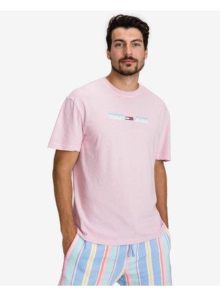 Pastel Linear Logo Triko Tommy Jeans