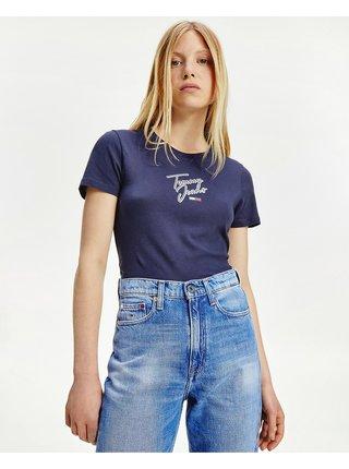 Skinny Script Tee Triko Tommy Jeans