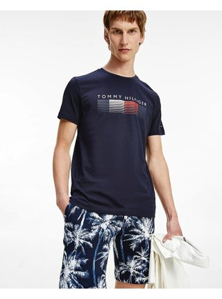 Fade Graphic Cord Tee Triko Tommy Hilfiger