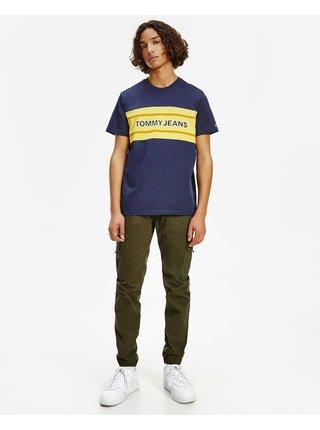 TJM Stripe Colorblock Tee Triko Tommy Jeans
