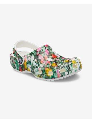 Classic Printed Floral Clog Crocs