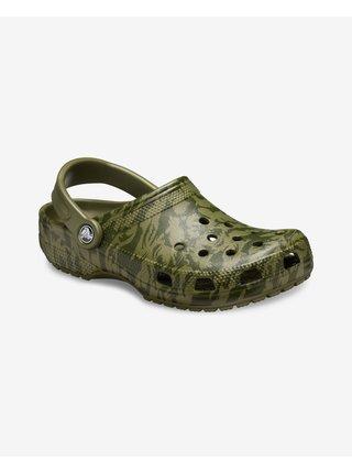 Classic Printed Camo Clog Crocs