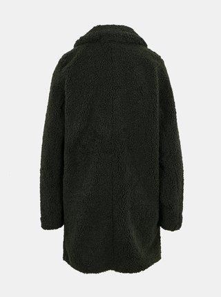 Tmavozelený zimný kabát Noisy May Gabi