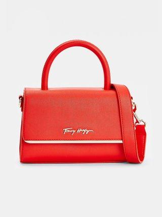 Červená dámská crossbody kabelka Tommy Hilfiger