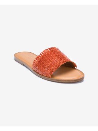 Papuče, žabky pre ženy ALDO - oranžová