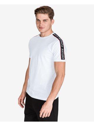 Tričká s krátkym rukávom pre mužov Antony Morato - biela