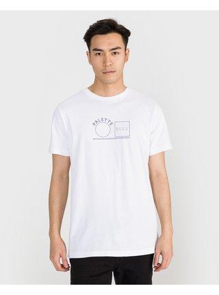 Tričká s krátkym rukávom pre mužov Scotch & Soda - biela