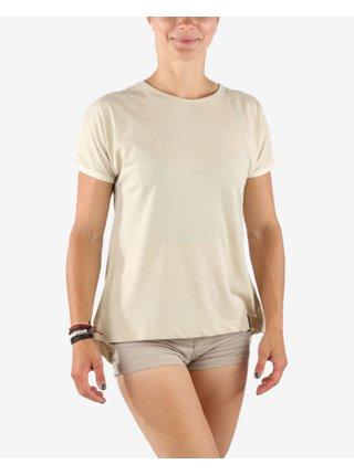 Tričká s krátkym rukávom pre ženy SAM 73 - béžová