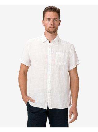 Košele s krátkym rukávom pre mužov Pepe Jeans - biela