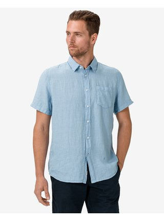 Košele s krátkym rukávom pre mužov Pepe Jeans - modrá
