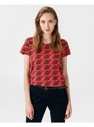 Tričká s krátkym rukávom pre ženy Scotch & Soda - červená