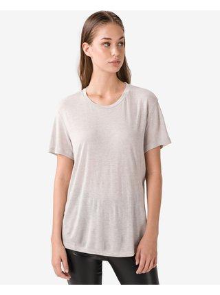 Tričká s krátkym rukávom pre ženy Diesel - sivá
