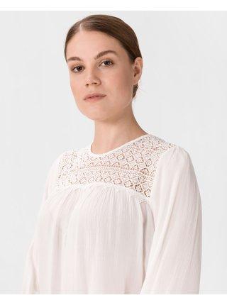 Blúzky pre ženy Pepe Jeans - biela