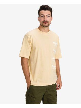 Tričká s krátkym rukávom pre mužov Scotch & Soda - žltá