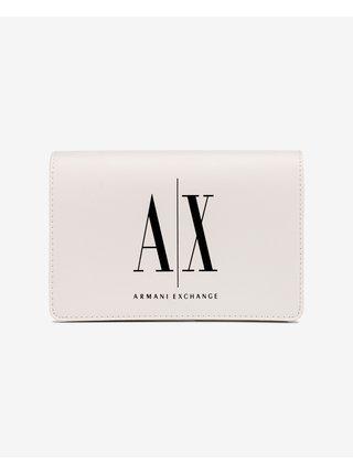 Kabelky pre ženy Armani Exchange - biela
