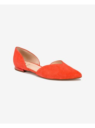 Baleríny pre ženy Högl - červená, oranžová