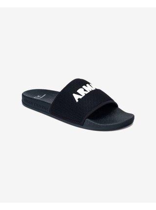 Sandále, papuče pre mužov Armani Exchange - modrá