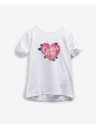 Glitter Logo Triko dětské Guess