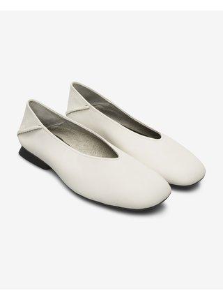 Baleríny pre ženy Camper - biela