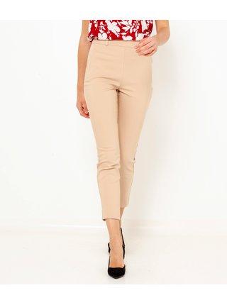 Svetloružové 3/4 skinny fit nohavice CAMAIEU