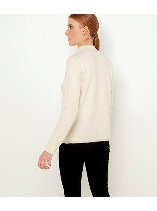 Krémový sveter CAMAIEU