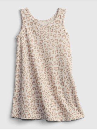 Béžové holčičí šaty šaty tank dress