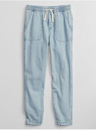Modré holčičí džíny pull-on joggers