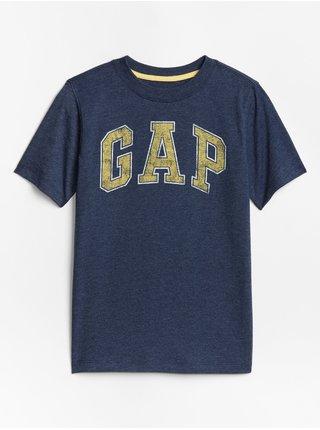 Modré klučičí tričko GAP Logo t-shirt