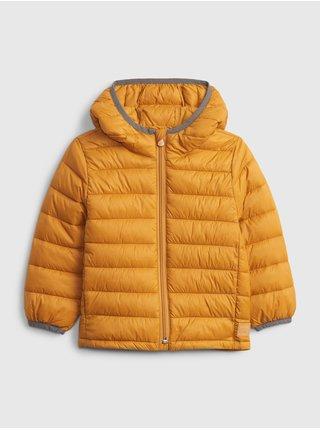 Žlutá klučičí bunda ltwt puffer
